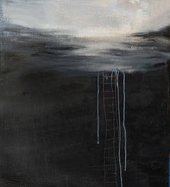 Akryyli- ja öljyväri levylle, 61×122 cm