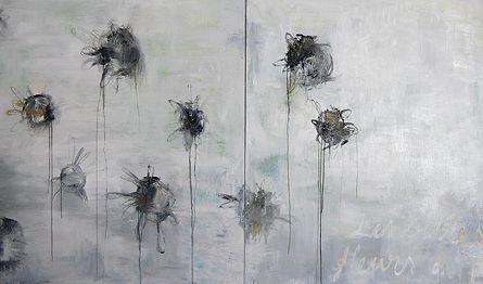 Akryyli- ja öljyväri levylle, 244×122 cm