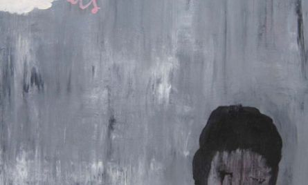 Akryyli- ja öljyväri levylle, 61 x 61 cm