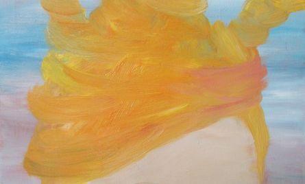 Akryyli- ja öljyväri kankaalle, 50 x 60 cm